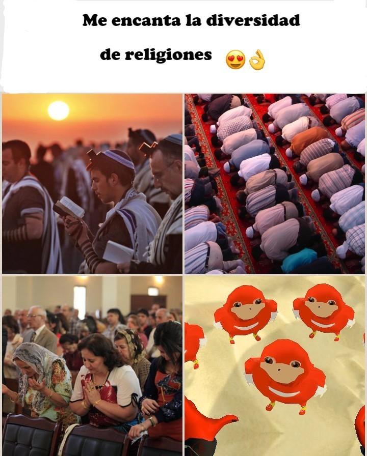 Los memes pasan de moda, las religiones no