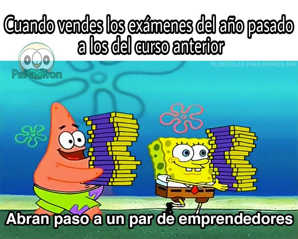 Emprendedor - meme