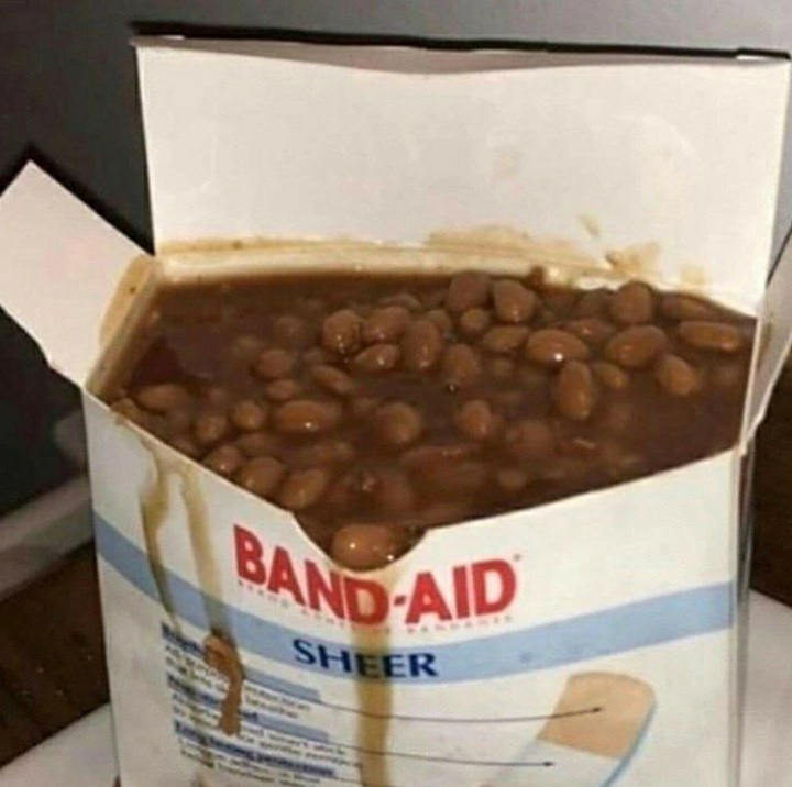 Bean aid - meme
