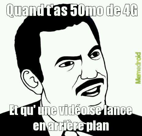 La 4G c'est la vie - meme