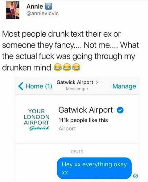 Attracted to airports - meme