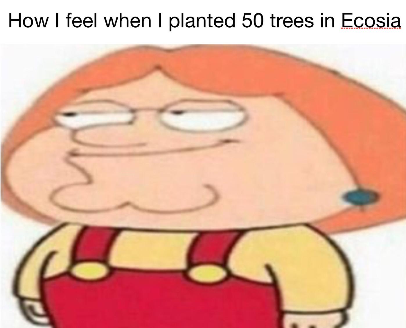 Use Ecosia instead of google - meme