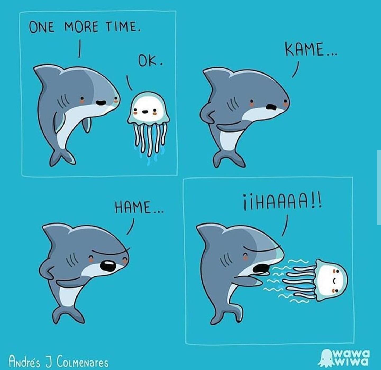 Sharks... - meme