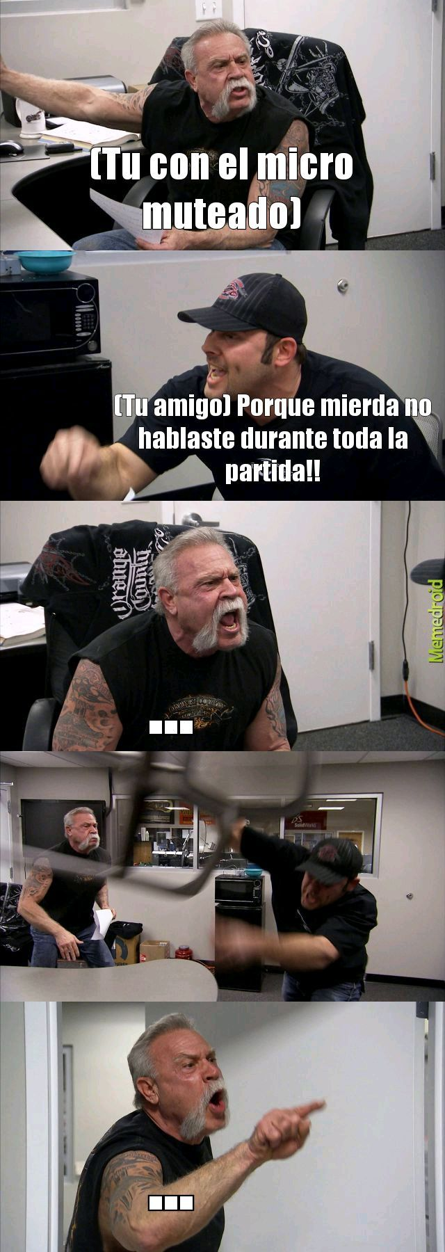 Oh shit! - meme
