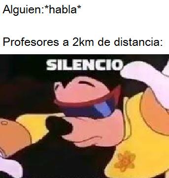 Silencio - meme