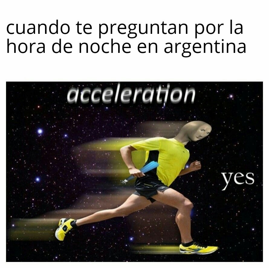 Corre wachin - meme