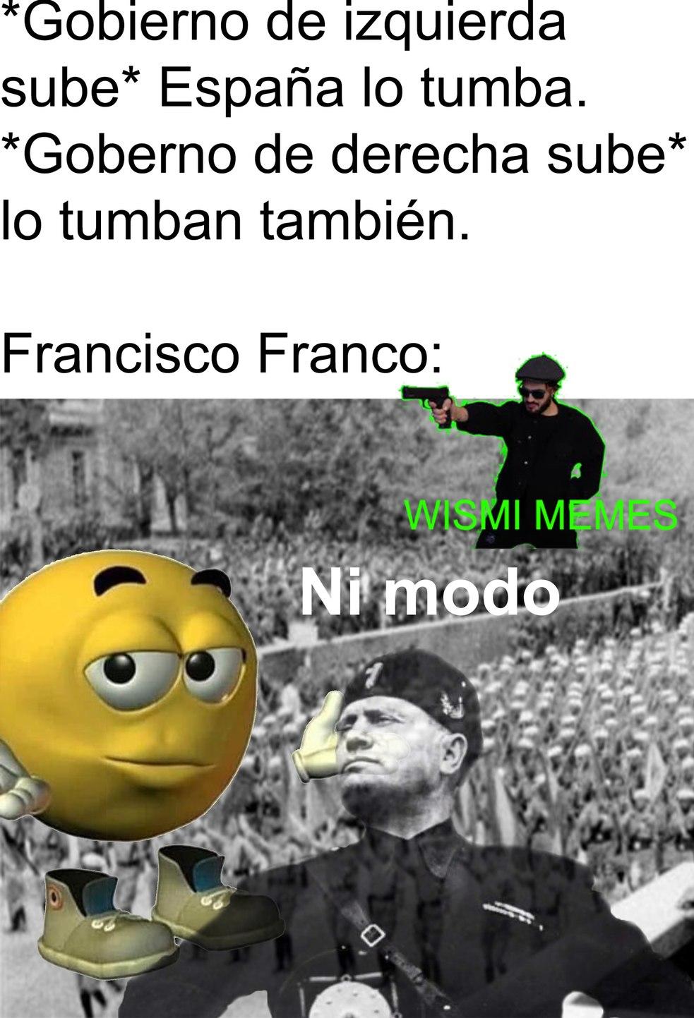 Franco Franco Franco Franco Franco Franco.... - meme