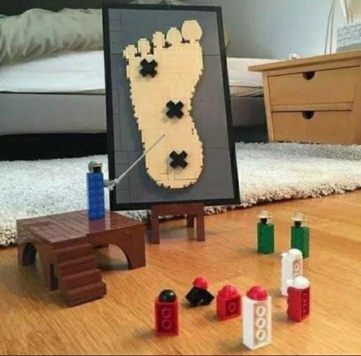 Legos en mi cuarto - meme
