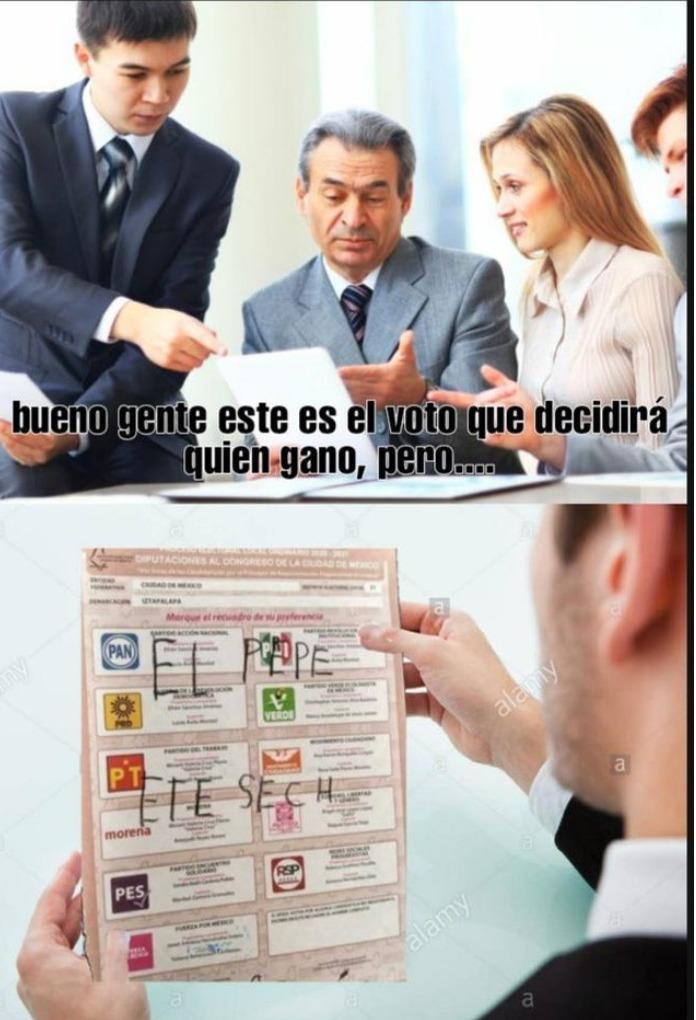 ELECCIONES EN MEXICO - meme