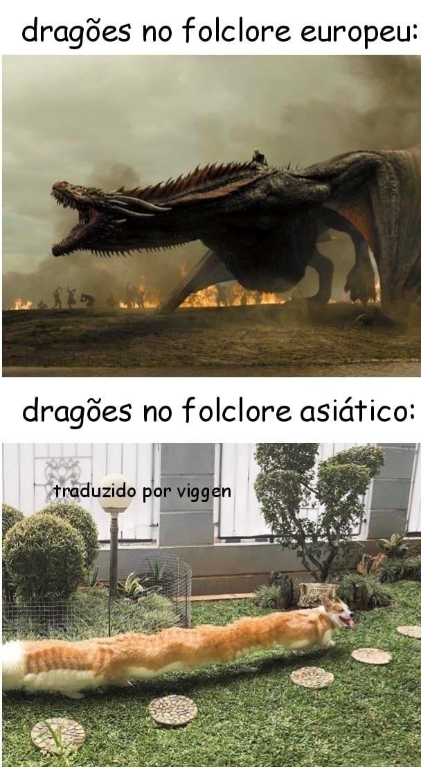 Rainha das dragões - meme