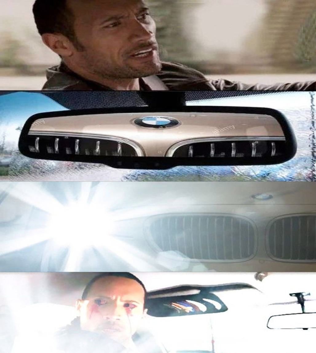 POV: Audi and BMW - meme
