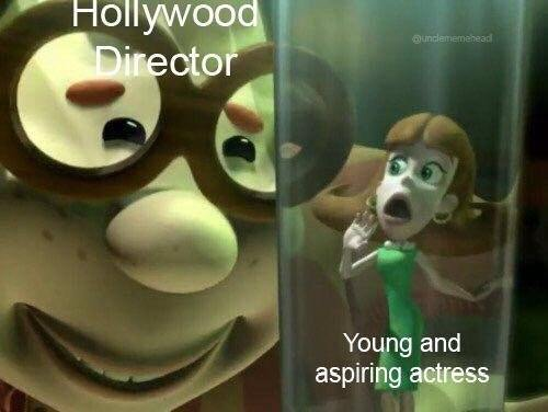 How Hollywood works - meme