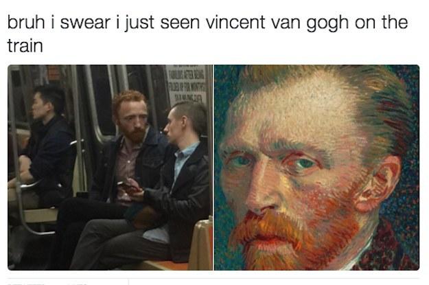 Vincent Van Gogh - meme