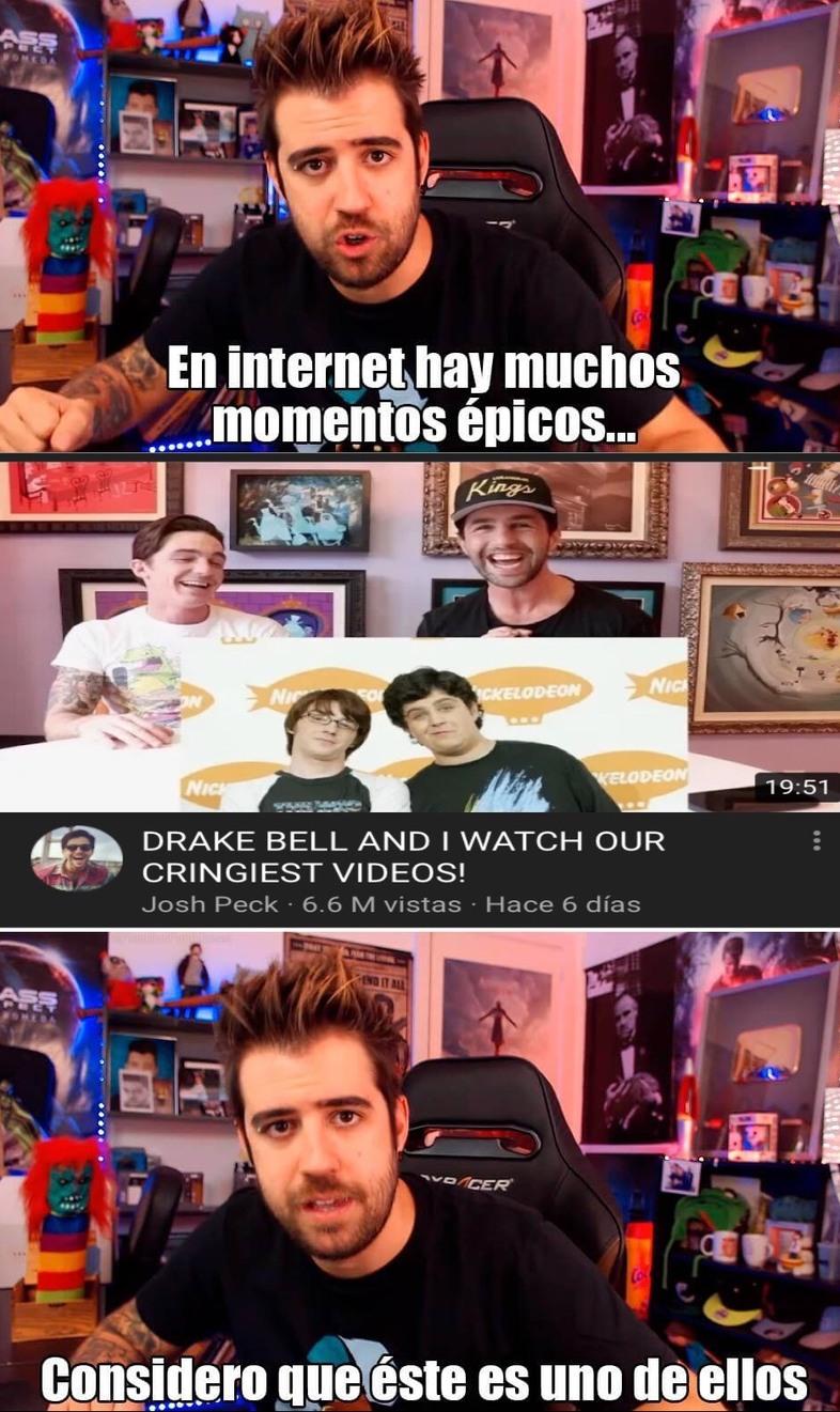 el título se quedó viendo el video - meme
