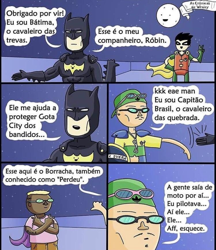 Capitão Brasil - meme