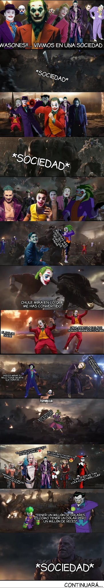 Joker: society war parte 2 - meme