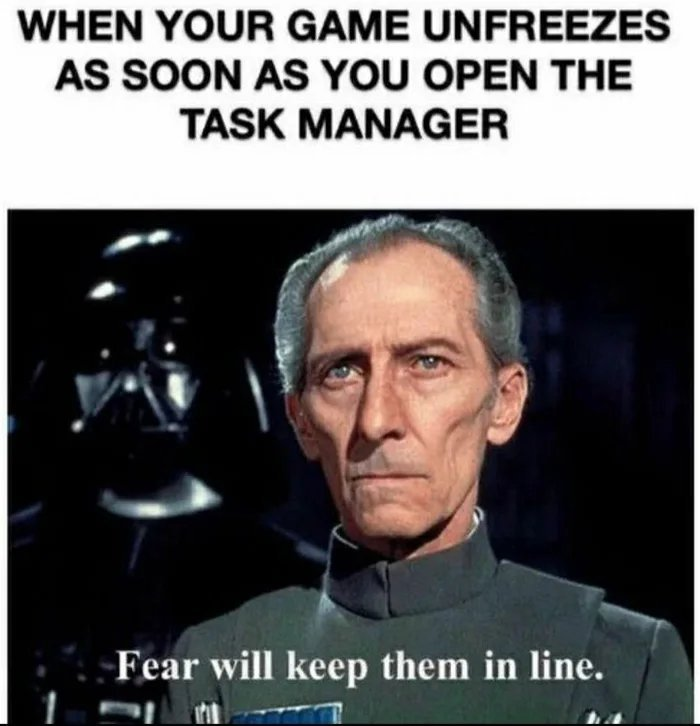 Looking at you, fallen order! - meme