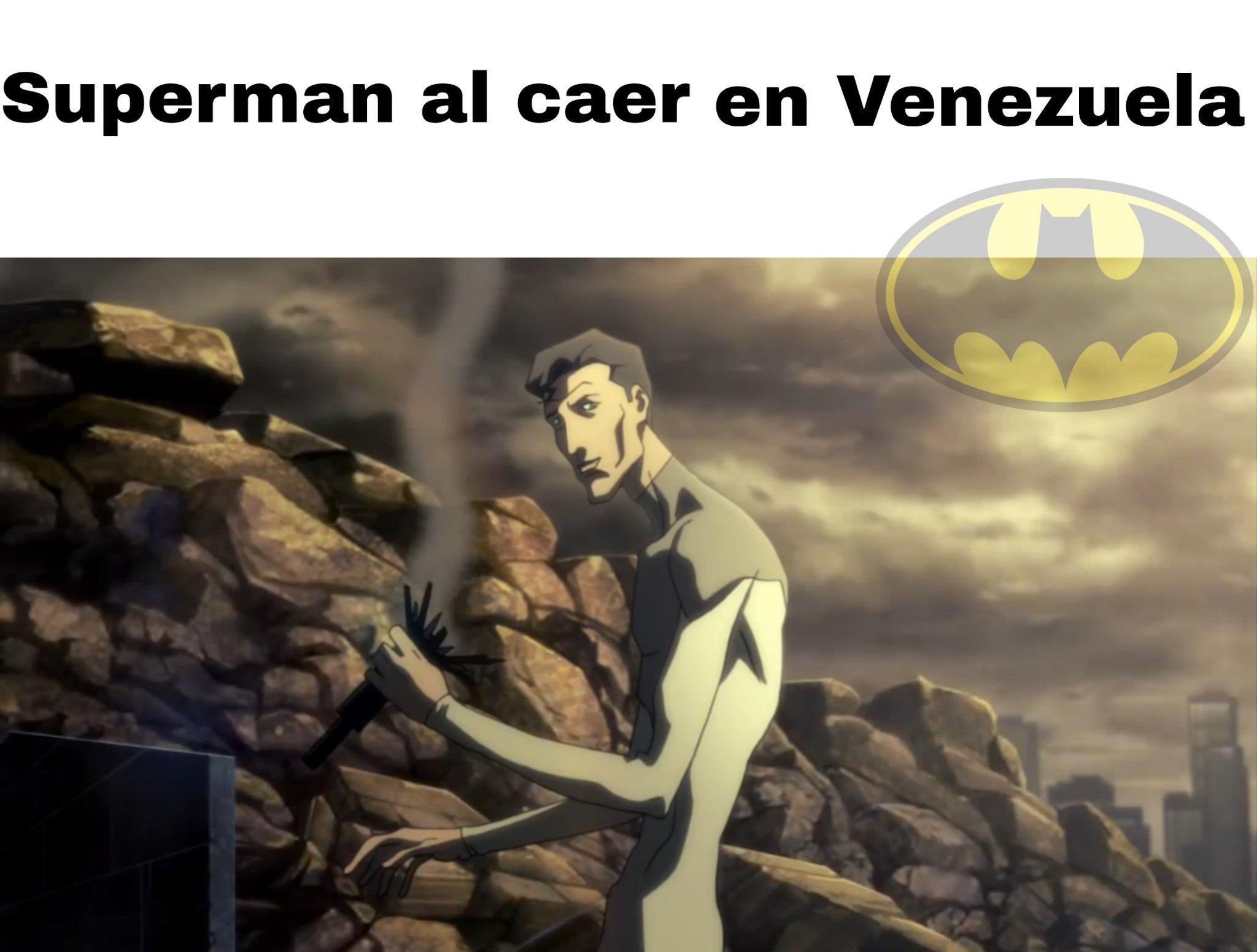 Superman venezolano - meme