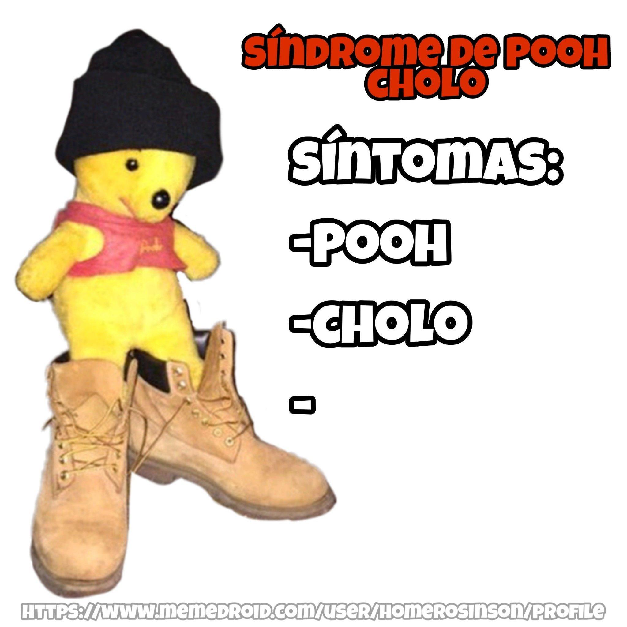 Pooh cholo - meme