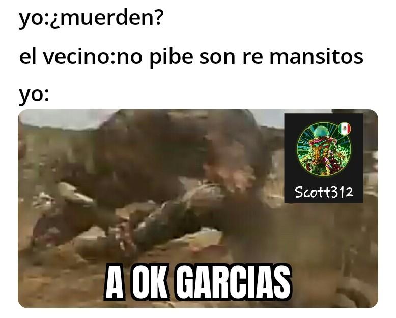 A ok garcias - meme