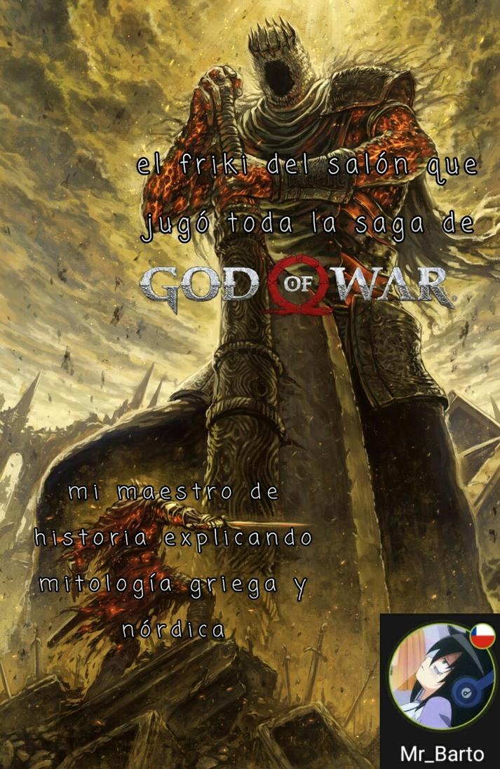 Aunque hay ciertos errores en la saga con la mitología, pero igual es genial esa saga - meme