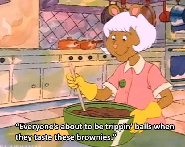 brownies - meme