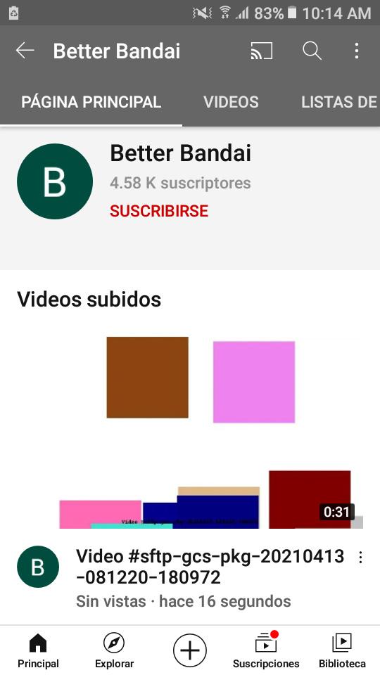 Ese canal sube vídeos en muy poco tiemp - meme