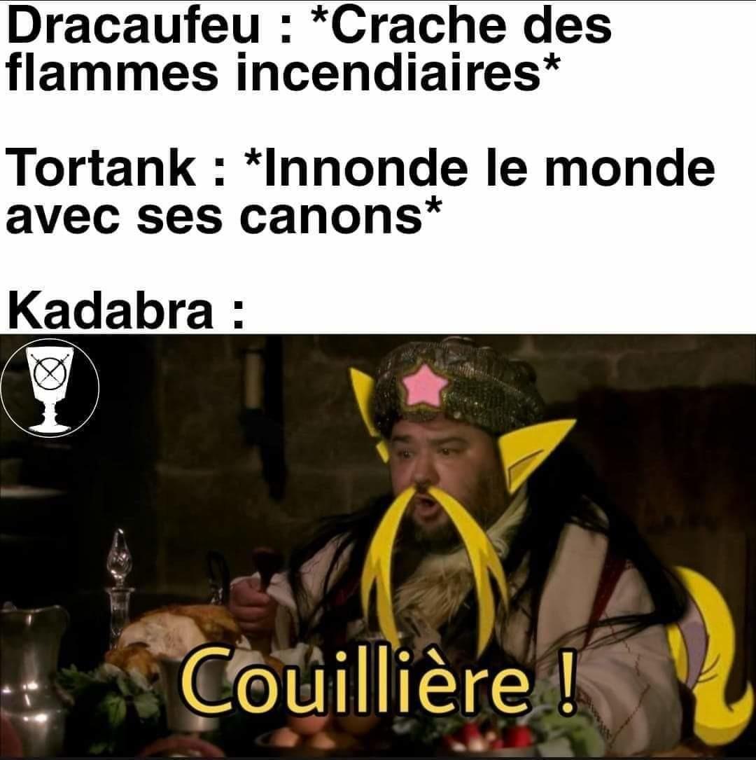 Petit crossover pokémon Kaamelott - meme