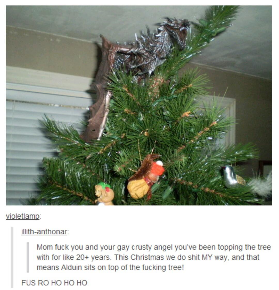 A very Skyrim Christmas - meme
