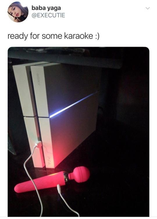 Karaoke - meme