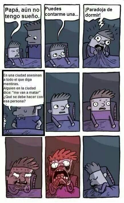 Paradoja - meme