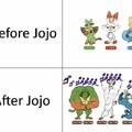 Titulo depois de JoJo