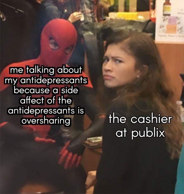 I can't have kombucha - meme