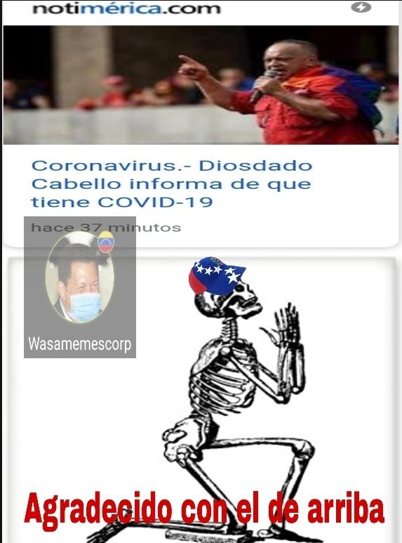 Ese es la mano derecha de Maduro - meme