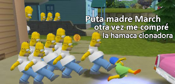 homero clon - meme
