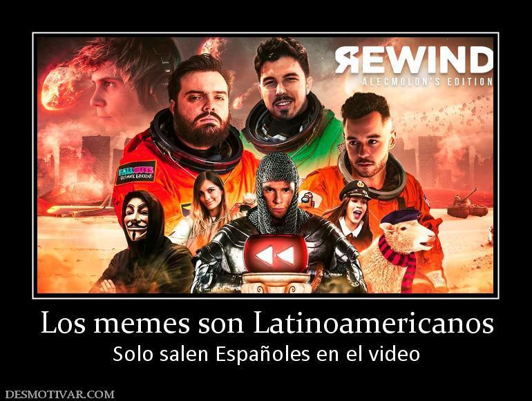 Minimo un youtuber latinoamericano no? - meme