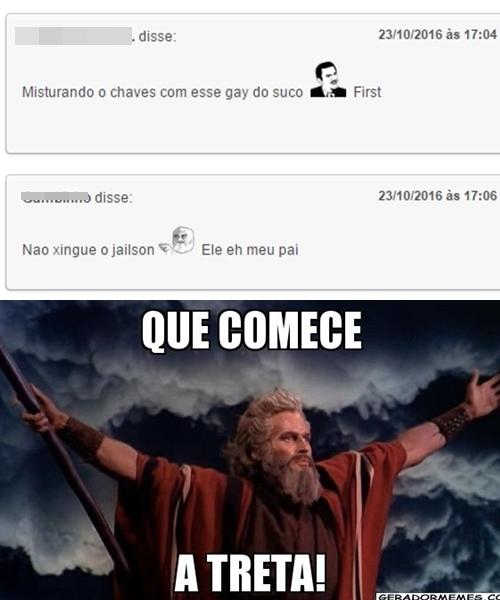 NUNCA FALE MERDA DO JAILSON FDP - meme
