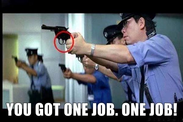 Gun Aiming 101 - meme