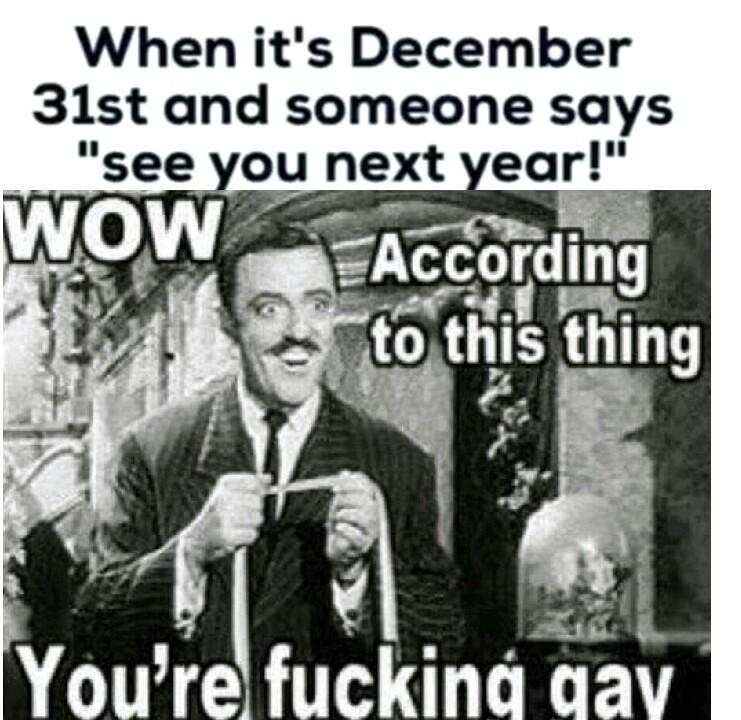 Fucking gay - meme