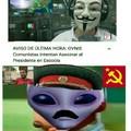 Malditos extraterrestres comunistas