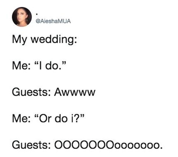My wedding - meme