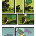 AwkwardZombie Metal gear comics