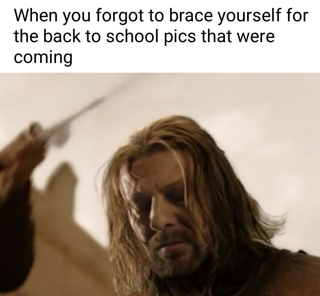 Wasn't prepared - meme