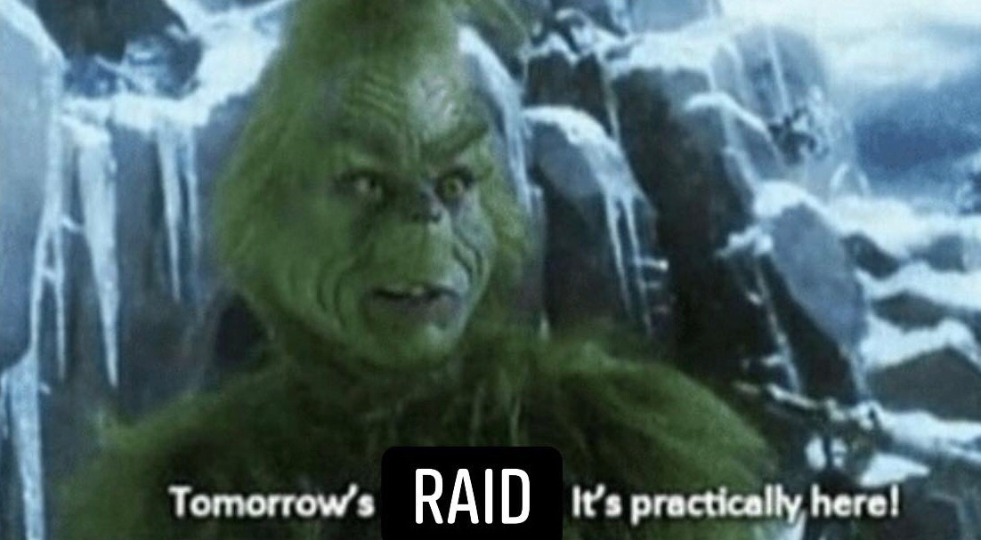 Area 51 raid time - meme