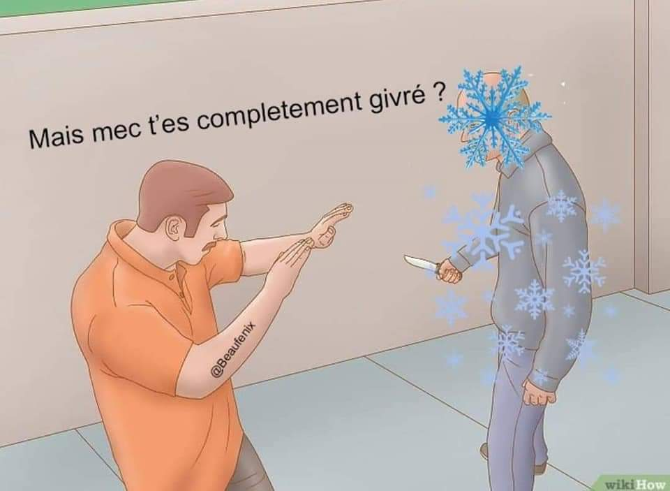 Froid glacial - meme