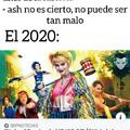 No pos el 2020 si estuvo bien culero.