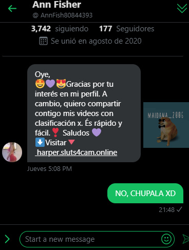 NO, CHUPALA XD - meme