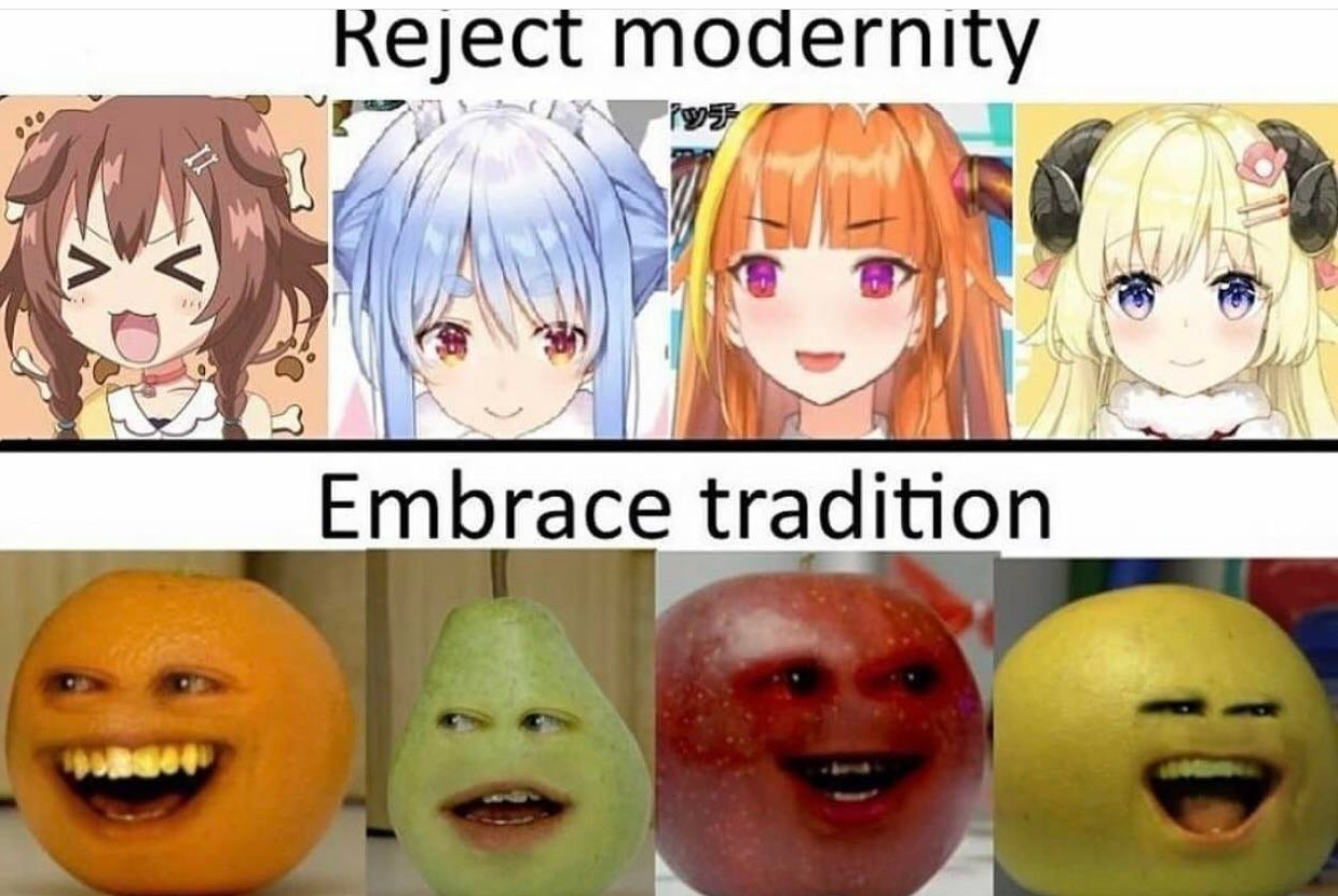 This meme is orange approved.