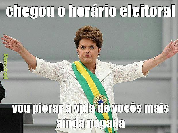 Dilma eleitoral - meme