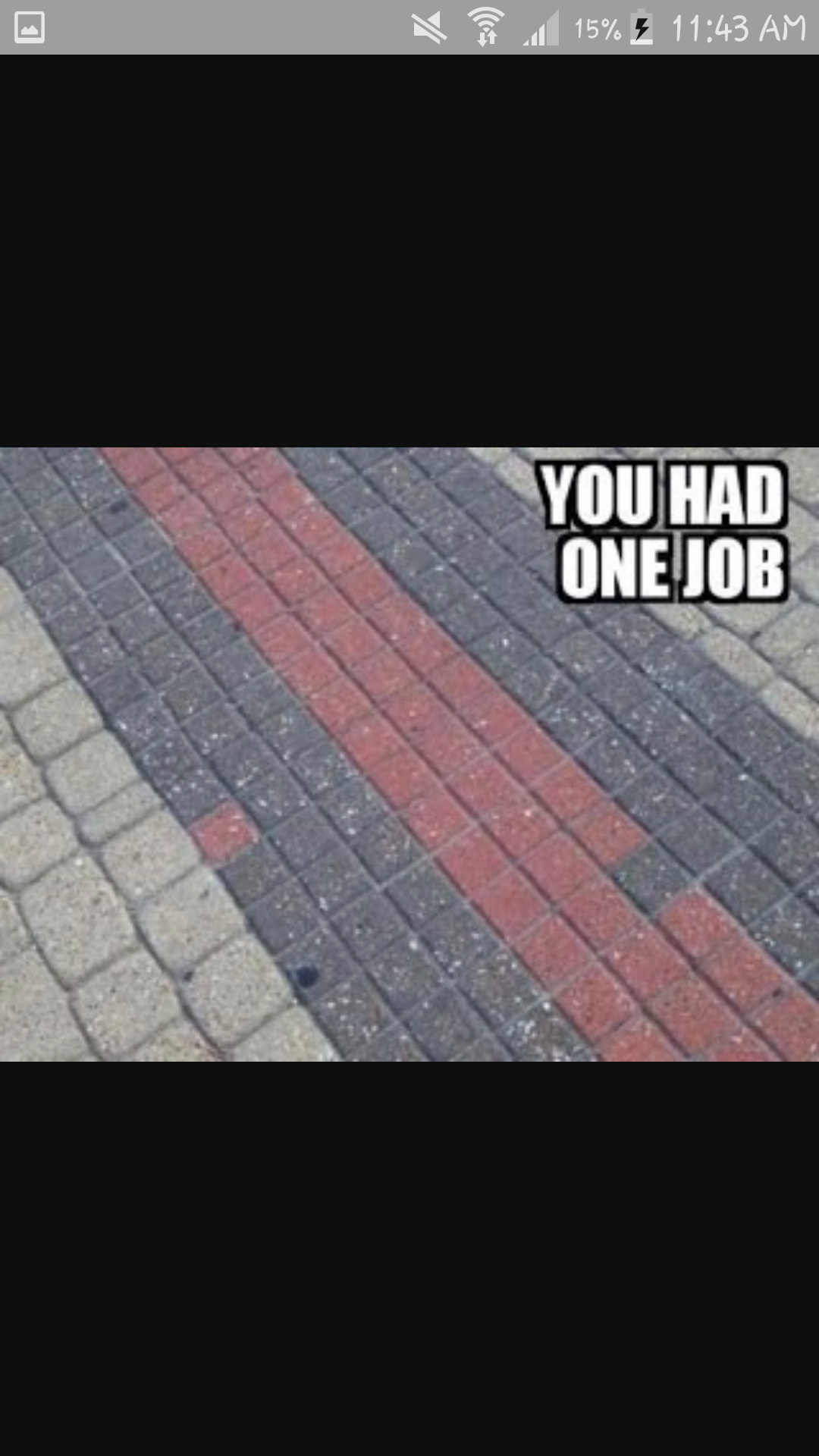 One job sir one job - meme